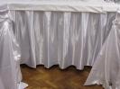 Půjčovna rautové sukně, skirting, ubrusy, nábytek
