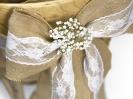 Svatební mašle na židle