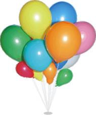 Nafukovací balonky pastelové