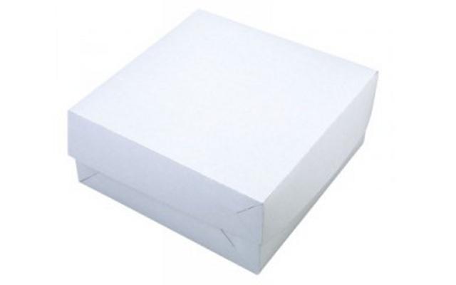 Svatební krabička na výslužku 28x28x10 cm