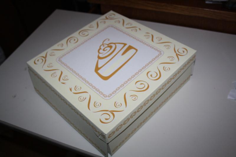 Krabice na dort, dortová krabice