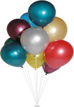 Nafukovací balónky metalizované koule velká