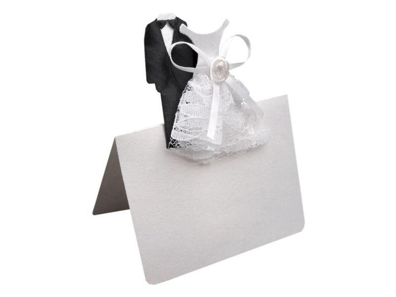 Svatební jmenovka novomanželé 85x106 mm