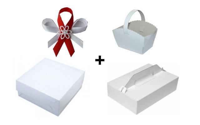 Krabičky na svatbu sada, svatební krabičky - akce