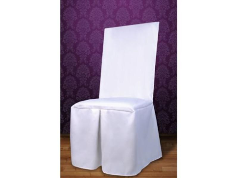 Svatební potahy na židle, svatební potah na židli
