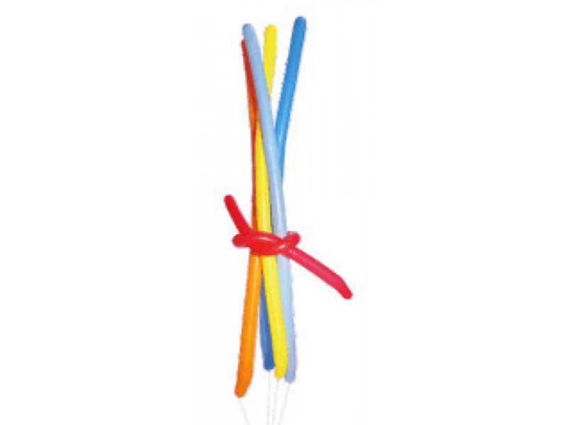 Nafukovací balónky tvarovací pastelové